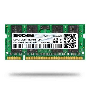 Memoria Notebook DDR2 2GB 667MHz Ankowall