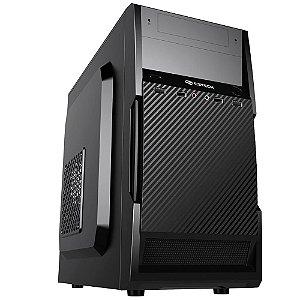 Gabinete C3Tech Micro-ATX com Fonte 200w Preto MT-25V2BK