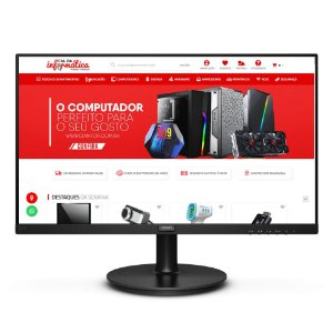 "MONITOR LED 23.5"" FULL HD IPS VGA HDMI 75Hz BORDA FINA VESA 100 242V8A PHILIPS"