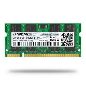 Memoria Notebook DDR2 2GB 800MHz Ankowall