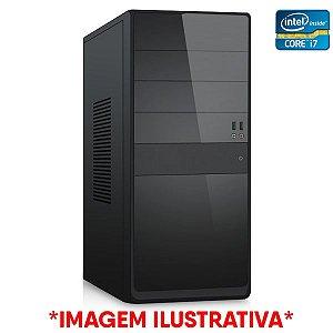 Computador Intel Core i7 3770 + Placa Mãe TCN H61 + Memória 16GB DDR3 + SSD 512GB