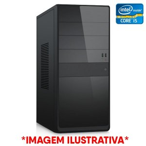Computador Intel Core i5 3330 + Placa Mãe TCN H61 + Memória 4GB DDR3 + SSD 128GB