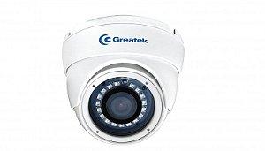 Câmera Dome Infravermelho 20m 720p 2.8mm AHD SEGC1025D Greatek
