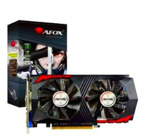 Placa de Vídeo Geforce GTX 750Ti 2GB GDDR5 HDMI VGA DVI AF750TO AFOX
