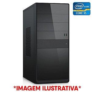 Computador Intel Core i5 650 + Placa Mãe ZX-H55 1156 + Memória 4GB DDR3 + SSD 128GB
