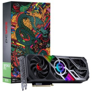 Placa de Vídeo GeForce RTX 3070 GamingPro 8GB GDDR6 256BITS PCIE 4.0 HDMI DP PCYES