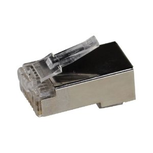 Conector RJ45 Macho CAT5 Link+ Blindado Gigabit 1 Unidade
