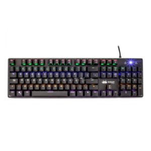 Teclado Mecânico Switch Blue LED Rainbow AntiGhost KP-2046 Knup
