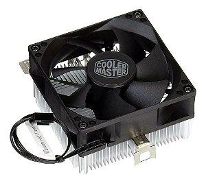 Cooler para Processador AMD A30 80mm CoolerMaster