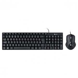 KIT Teclado + Mouse USB Corporativo Preto CC200 Vinik