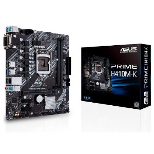 Placa Mãe Asus Prime 1200 mATX H410M-K USB 3.0 VGA DVI 10a Ger.