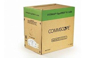 Cabo de Rede CAT6 Cinza 100% Cobre Homologado GigaSpeed XL Commscope (1 Metro)