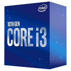 Processador Intel Core I3 10100F 3.60GHz Coffee Lake Cache 6MB 1200 Sem Video BX8070110100F