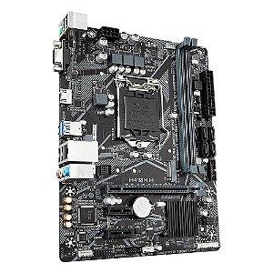 Placa Mãe LGA 1200 mATX IPMH410G PCWare DDR4 2666 GIGABIT M.2 NVME VGA HDMI 10TH