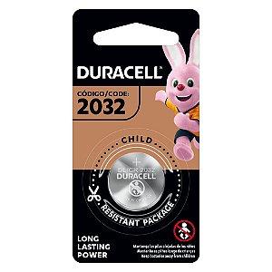 Bateria Placa Mãe Moeda CR2032 3V Duracell
