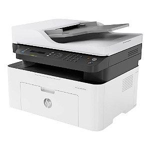 Impressora Multifuncional LaserJet M137fnw Monocromática 110V HP
