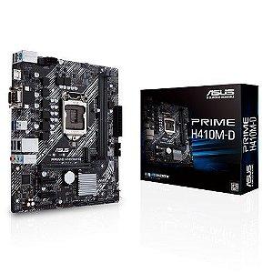 Placa Mãe Asus Prime H410M-D LGA 1200 DDR4 M.2 USB 3.0
