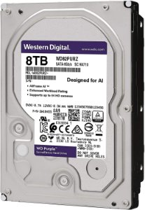 Hard Disk Purple 8TB SATA 7200RPM Surveillance WD82PURZ Western Digital