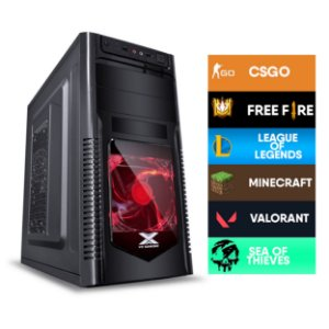 COMPUTADOR CIA LUMOS, INTEL CORE I3 9100, PLACA MÃE H310, MEMORIA 8GB, SSD SATA 256GB, GABINETE ORION, FONTE 500W, GT 1030 2GB