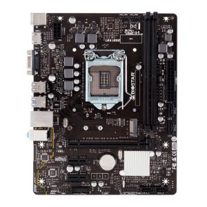 Placa Mãe Biostar mATX H3410M-E V6.1 DDR4 M.2 NVME 10ª Ger Intel
