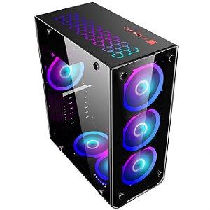 Gabinete Gamer VULCANO ATX MID TOWER S/COOLER MYMAX MCA-VULCANO8412