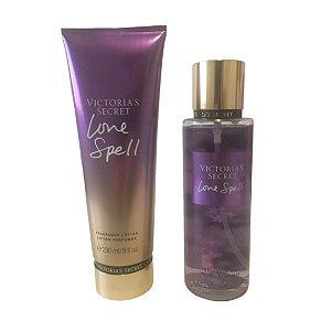 Victória Secrets kit Creme + Splash ( disponível em 3 fragrâncias clique na foto)