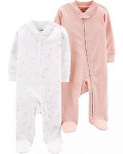 """Macacão para brincar ou dormir (pijama) - Carter´s   """"vem com 2 peças'"""