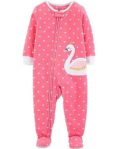 Macacão fleece (quentinho)  para brincar ou dormir (pijama) - Carter´s