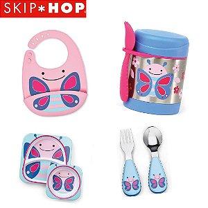 kit alimentação Skip Hop - Borboleta