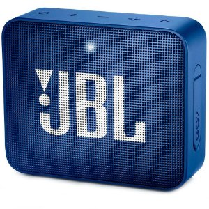 Caixa de som JBL GO 2 Azul - Bluetooth | À Prova D'Água - 1 ano de garantia