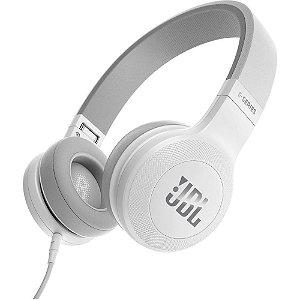 Fone de ouvido JBL E35 com fio | Branco - 1 ano de garantia