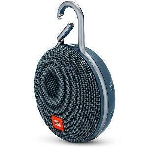 Caixa de som JBL CLIP 3 Azul Oceano| Bluetooth | À Prova D'Água - 1 ano de garantia