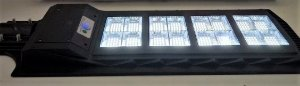 Luminária Pública Solar C/ Sensor E Controle Remoto Led 200w