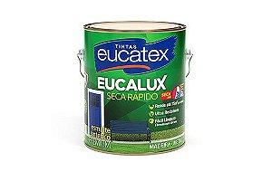 Eucalux Seca Rápido Esmalte Premium Brilhante Branco 3,6L - Eucatex