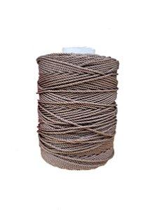Corda De Polietileno Para Rede De Proteção 120 Metros 4mm - MARROM