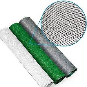 Tela Mosquiteiro Flex Proteção Janela Porta 2m X 1m