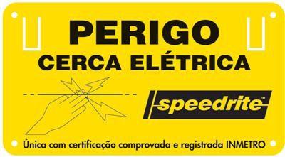PLACA DE AVISO SPEEDRITE SA046B