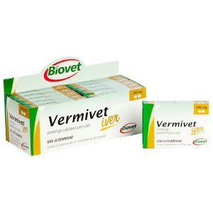 VERMIVET IVER 330MG 02CP 20010295