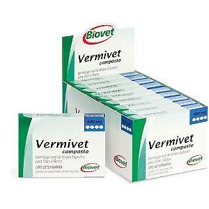 VERMIVET COMPOSTO 600MG 4CP 20010248