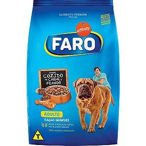 Ração Faro Affinity Adulto Raças Grandes Cozido de Carne e Frango para Cães Adultos
