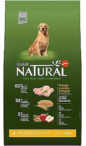 Ração Guabi Natural Adulto Porte Grande e Gigante Frango e Arroz Integral