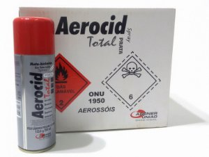 AEROCID TOTAL PRATA 200ML