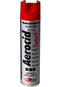 AEROCID TOTAL PRATA 500ML