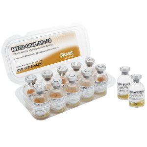 VACINA MYCO-GALLY MG-70 1000 DOSES BIOVET