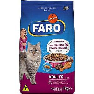 Ração Faro Affinity Grelhado de Carne e Frango para Gatos Adultos