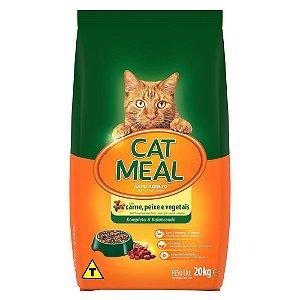 Ração Guabi Cat Meal Carne, Peixe e Vegetais 20kg para Gatos Adultos