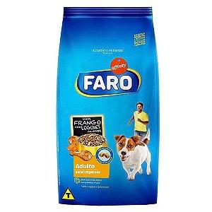 Ração Faro Affinity Raças Pequenas Frango com Legumes e Nuggets para Cães Adultos