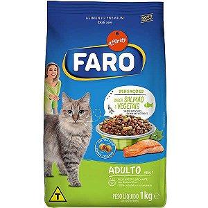 Ração Faro Affinity  Sensações Salmão e Vegetais para Gatos Adultos