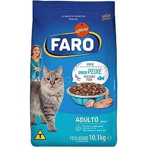 Ração Seca Affinity Faro Mix Sabor Peixe para Gatos Adultos