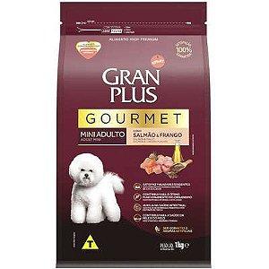 Ração Seca Affinity Gran Plus Gourmet Salmão & Frango para Cães Adultos Raças Mini